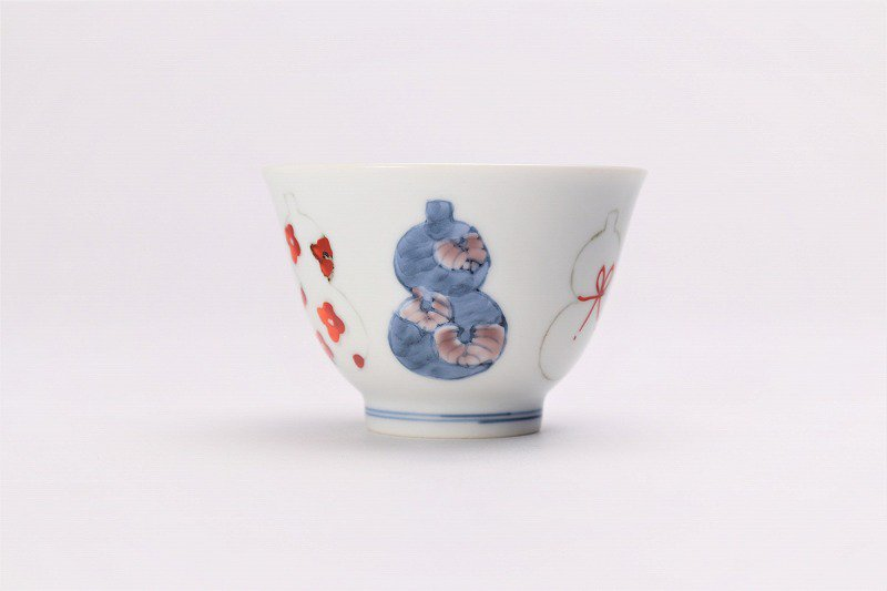 ☆徳七窯 伊万里ひょうたん 茶器セット 画像サブ9