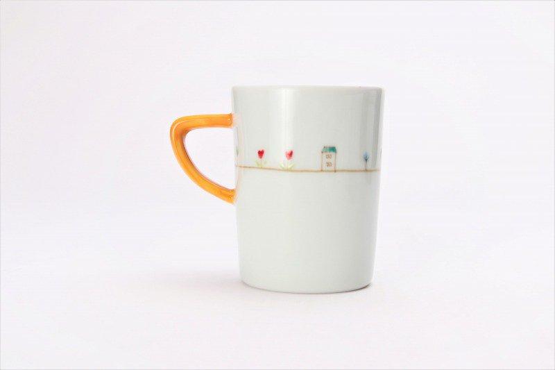 ☆一峰窯 オランダ ドラムマグ(S)取手黄 画像サブ3