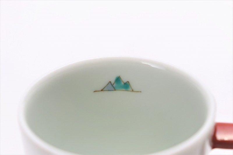 ☆一峰窯 北極 ドラムマグ(S)取手朱 画像サブ5