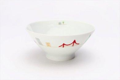一峰窯 アメリカ 茶碗(大)