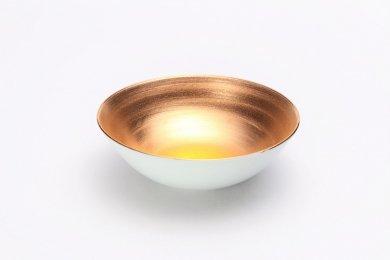 ☆徳幸窯 金霜彩四寸多用鉢 在庫4個