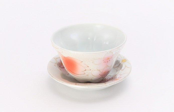 田清窯 チェリーブラッサム 茶器セット 画像サブ1