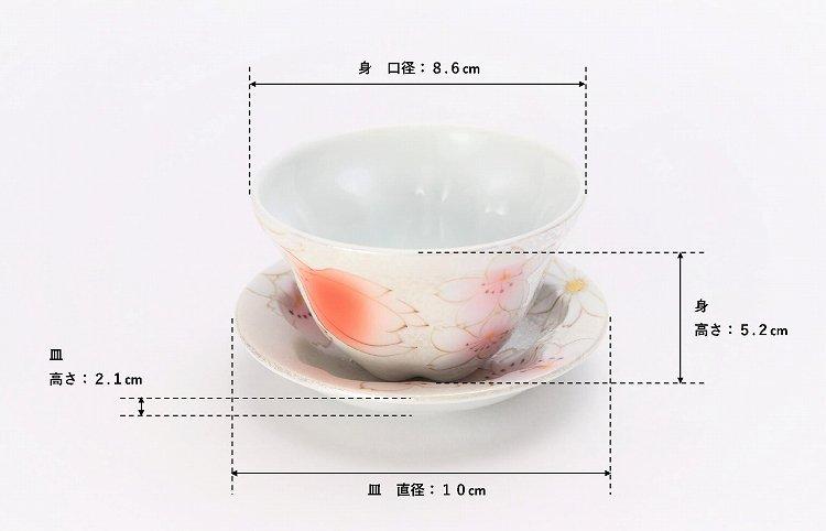 田清窯 チェリーブラッサム 茶器セット 画像サブ16
