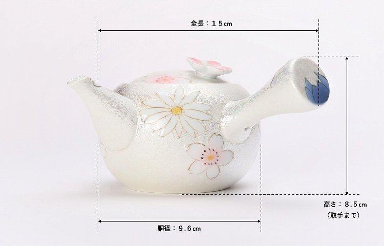田清窯 チェリーブラッサム 茶器セット 画像サブ27
