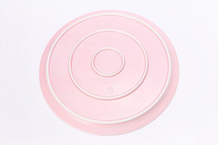 田清窯 薄ピンク釉虹彩桜 茶器セット(プレート付)  画像サブ30