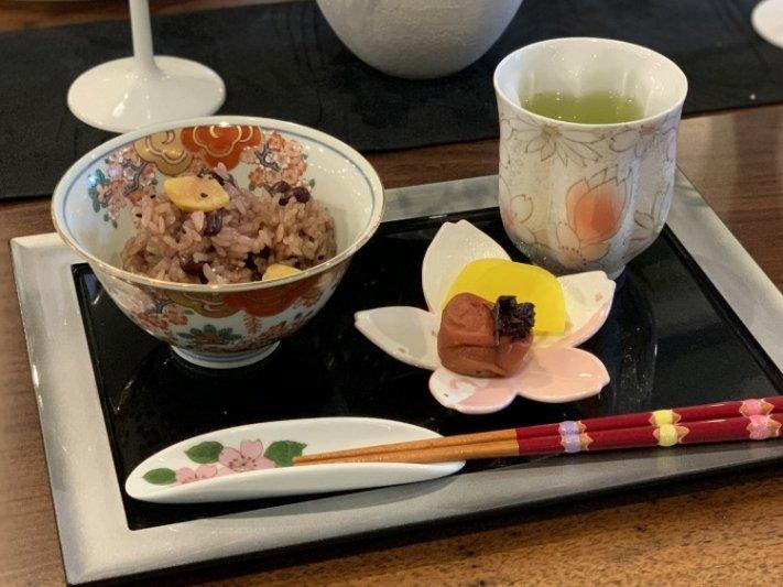 ☆田清窯 チェリーブラッサム(赤) 桜湯呑 画像サブ14