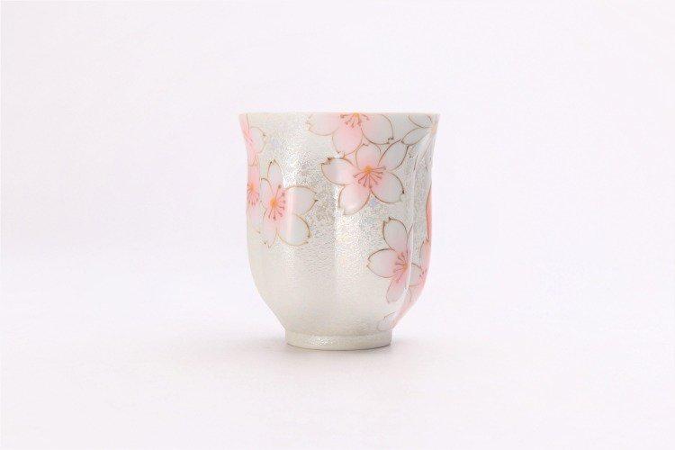 ☆田清窯 チェリーブラッサム(赤) 桜湯呑 画像サブ5