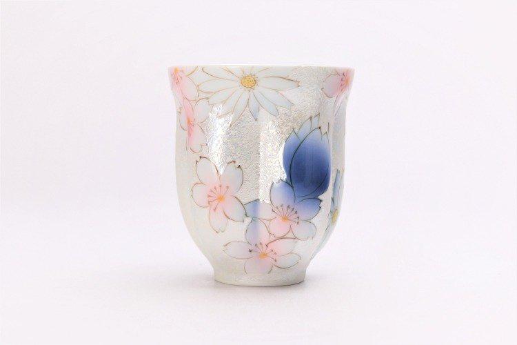 ☆田清窯 チェリーブラッサム ペア桜湯呑 画像サブ2