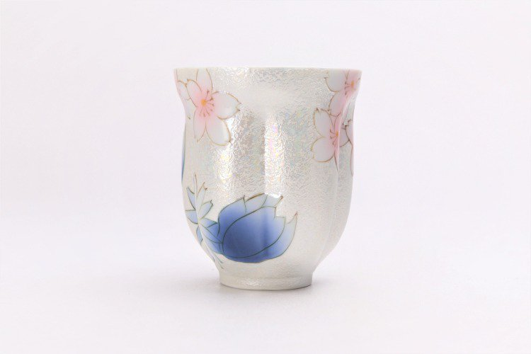☆田清窯 チェリーブラッサム ペア桜湯呑 画像サブ4