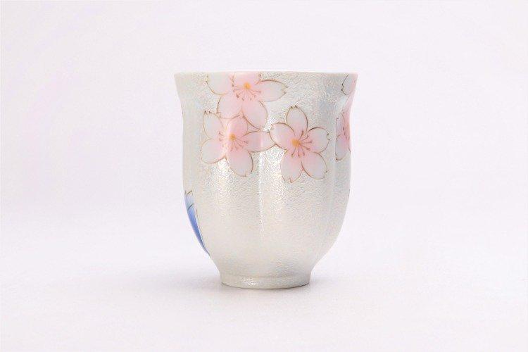 ☆田清窯 チェリーブラッサム ペア桜湯呑 画像サブ5