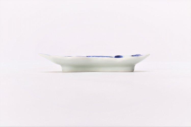 伯父山窯 濃地紋菊花型手塩皿 画像サブ1