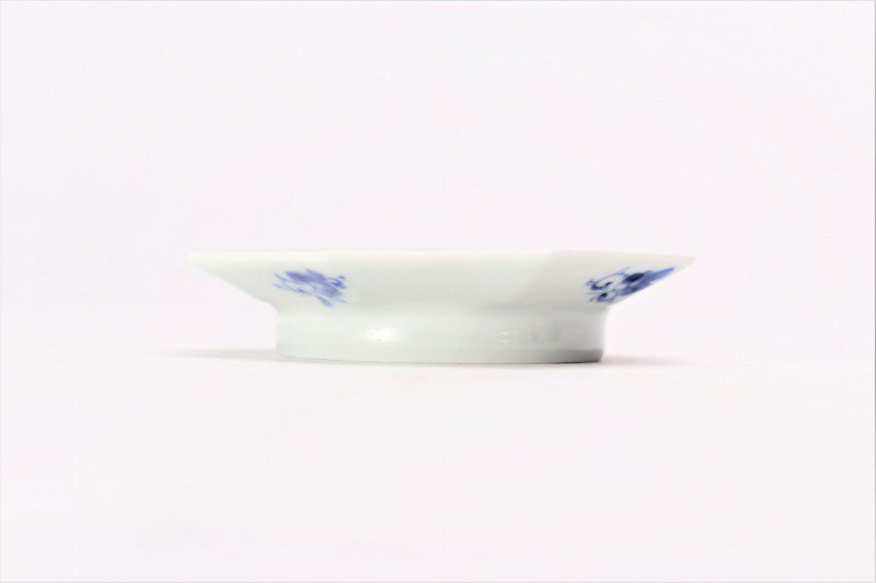 伯父山窯 花唐草八角手塩皿 画像サブ1