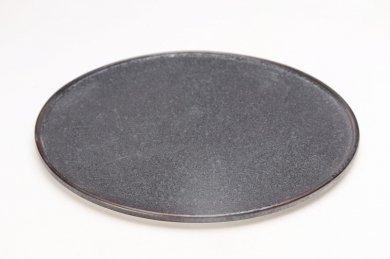 陶悦窯 晶27�渕付丸皿
