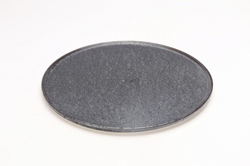 ☆陶悦窯 晶22�渕付丸皿 画像メイン