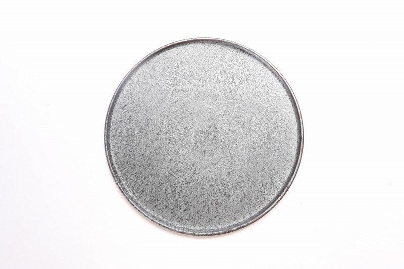 ☆陶悦窯 晶22�渕付丸皿 画像サブ2
