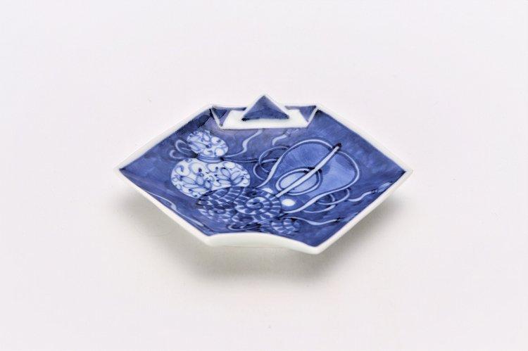 【オリジナル】濃み宝尽し折紙手塩皿 画像メイン