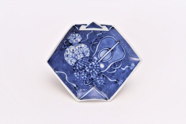 【オリジナル】濃み宝尽し折紙手塩皿 画像サブ2