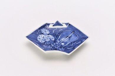 【オリジナル】濃み宝尽し折紙手塩皿
