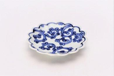 【オリジナル】蛸唐草菊型手塩皿