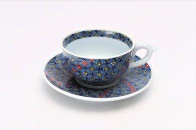 亮秀窯 古伊万里七宝 紅茶碗