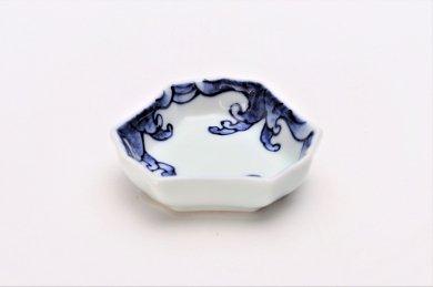 【オリジナル】波絵 釣鐘型小皿