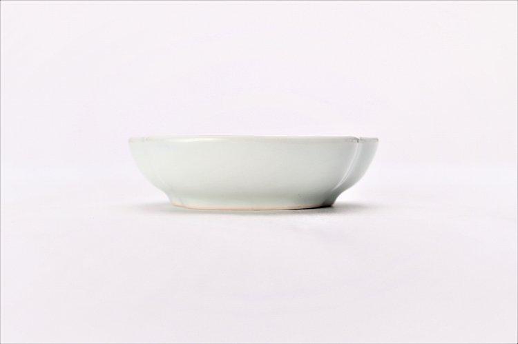 〇【オリジナル】渕青海波 三角隅入小皿 画像サブ1