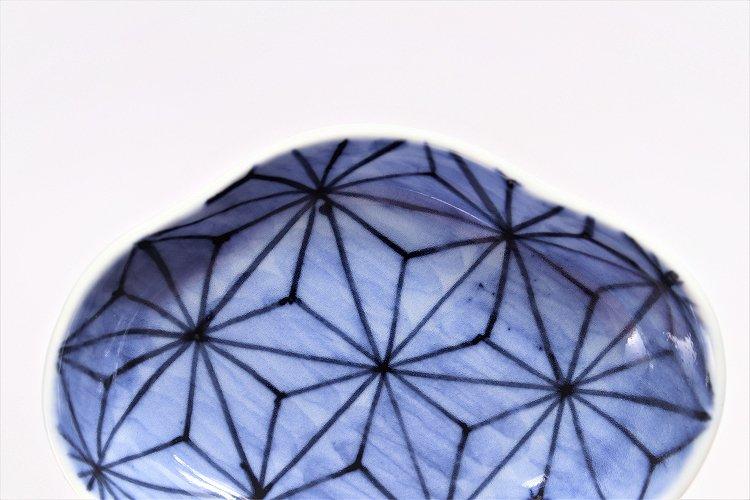 〇【オリジナル】麻の葉濃 木甲小皿 画像サブ3