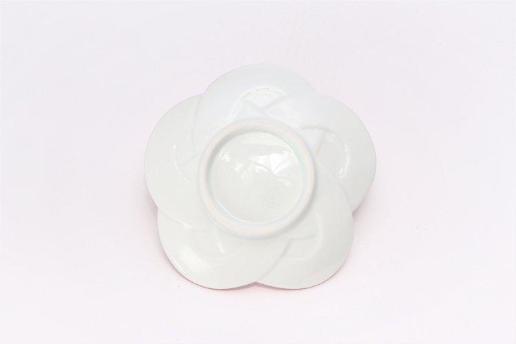 ☆田清窯 太白プラチナ線梅むすび小皿 画像サブ4