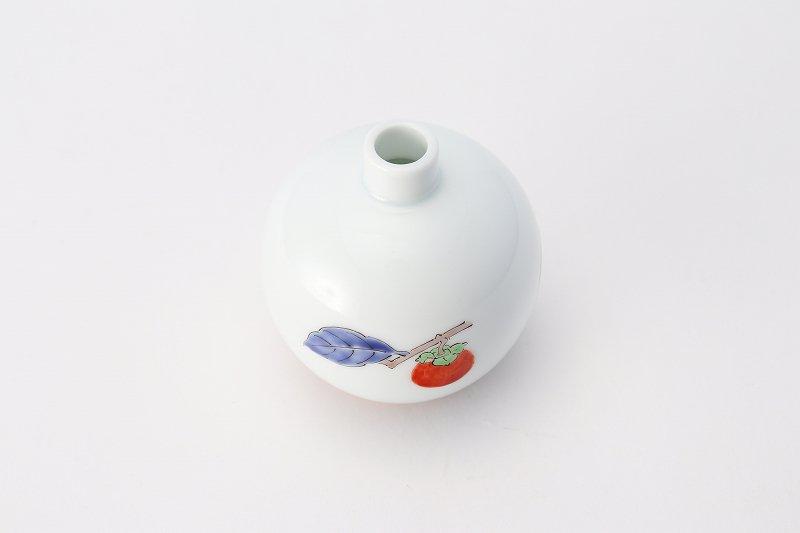 柿右衛門窯 一輪生(丸豆) 柿文 画像サブ6