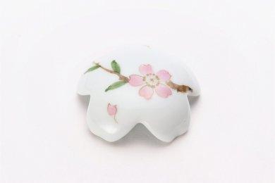 誕生花シリーズ 桜 桜型排水口カバー (4月誕生花)