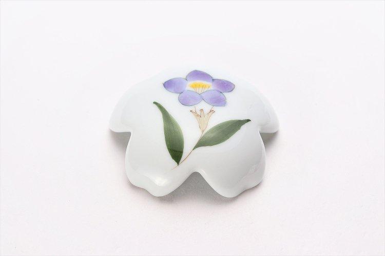 誕生花シリーズ 桔梗 桜型排水口カバー (8月誕生花) 画像メイン
