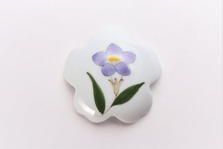 誕生花シリーズ 桔梗 桜型排水口カバー (8月誕生花) 画像サブ2