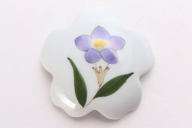 誕生花シリーズ 桔梗 桜型排水口カバー (8月誕生花) 画像サブ3