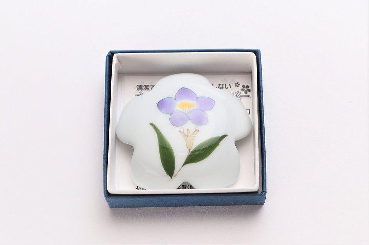 誕生花シリーズ 桔梗 桜型排水口カバー (8月誕生花) 画像サブ4