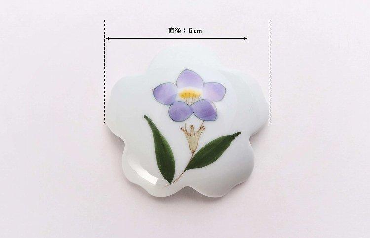 誕生花シリーズ 桔梗 桜型排水口カバー (8月誕生花) 画像サブ6