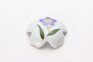 誕生花シリーズ 桔梗 桜型排水口カバー (8月誕生花)
