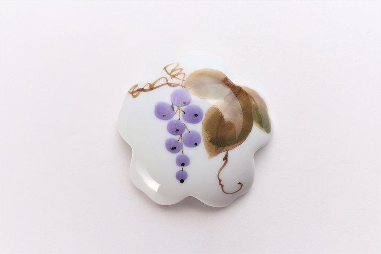 誕生花シリーズ 山ぶどう 桜型排水口カバー (10月誕生花) 画像サブ2
