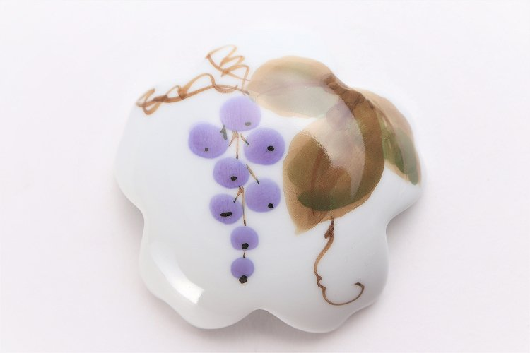 誕生花シリーズ 山ぶどう 桜型排水口カバー (10月誕生花) 画像サブ3