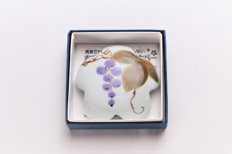 誕生花シリーズ 山ぶどう 桜型排水口カバー (10月誕生花) 画像サブ4