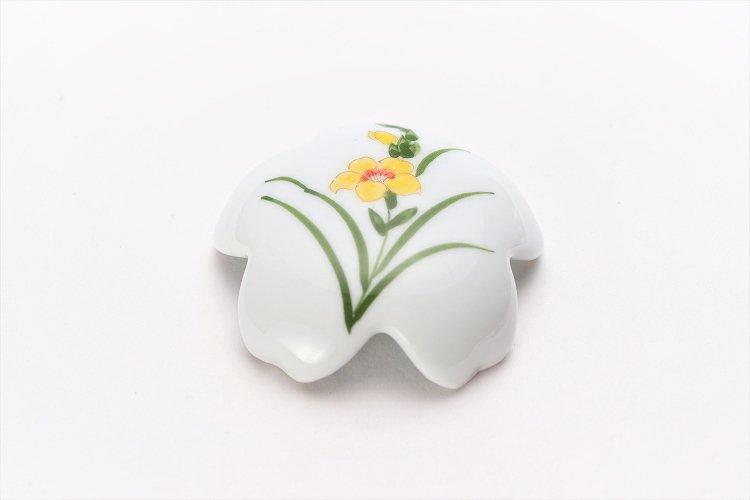 誕生花シリーズ グラジオラス 桜型排水口カバー (11月誕生花) 画像メイン