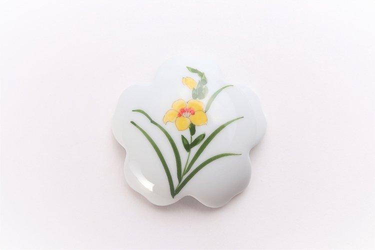 誕生花シリーズ グラジオラス 桜型排水口カバー (11月誕生花) 画像サブ2