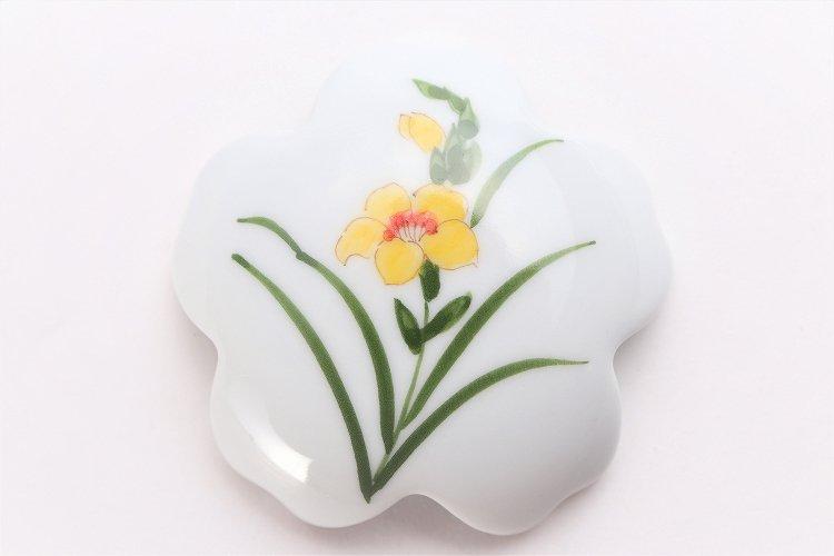 誕生花シリーズ グラジオラス 桜型排水口カバー (11月誕生花) 画像サブ3