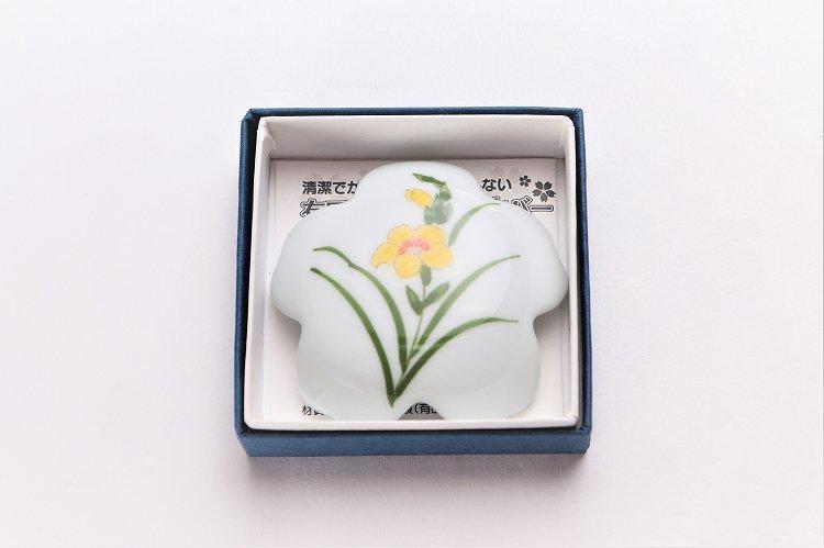 誕生花シリーズ グラジオラス 桜型排水口カバー (11月誕生花) 画像サブ4