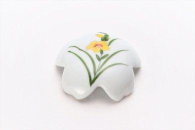 誕生花シリーズ グラジオラス 桜型排水口カバー (11月誕生花)