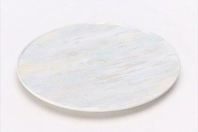 ☆釉彩光描 佳芳 Mist 23cmフラットプレート