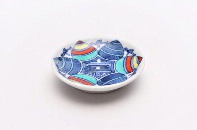 ☆三宅製陶所 寿(宝珠囲み) 豆小皿