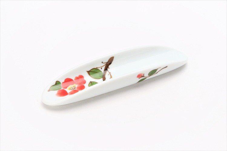 誕生花シリーズ 赤椿 はしまくら (1月誕生花) 画像メイン