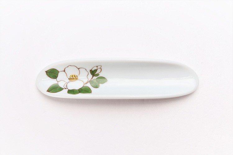 誕生花シリーズ 白サザンカ はしまくら (12月誕生花) 画像サブ2