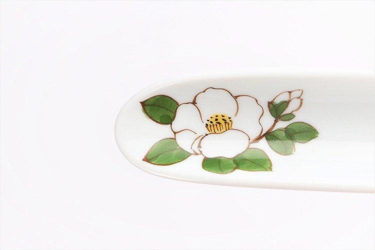 誕生花シリーズ 白サザンカ はしまくら (12月誕生花) 画像サブ3