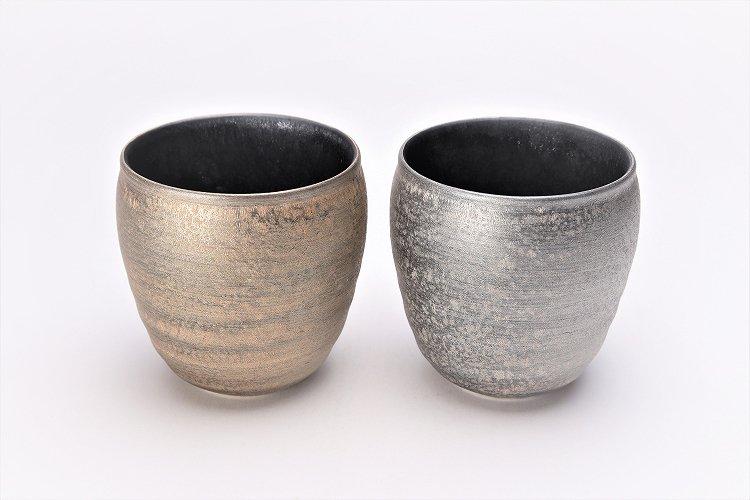 陶悦窯 晶雲母銀 ロックカップ 画像サブ5